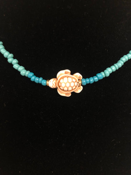 Beach Turtle Necklace