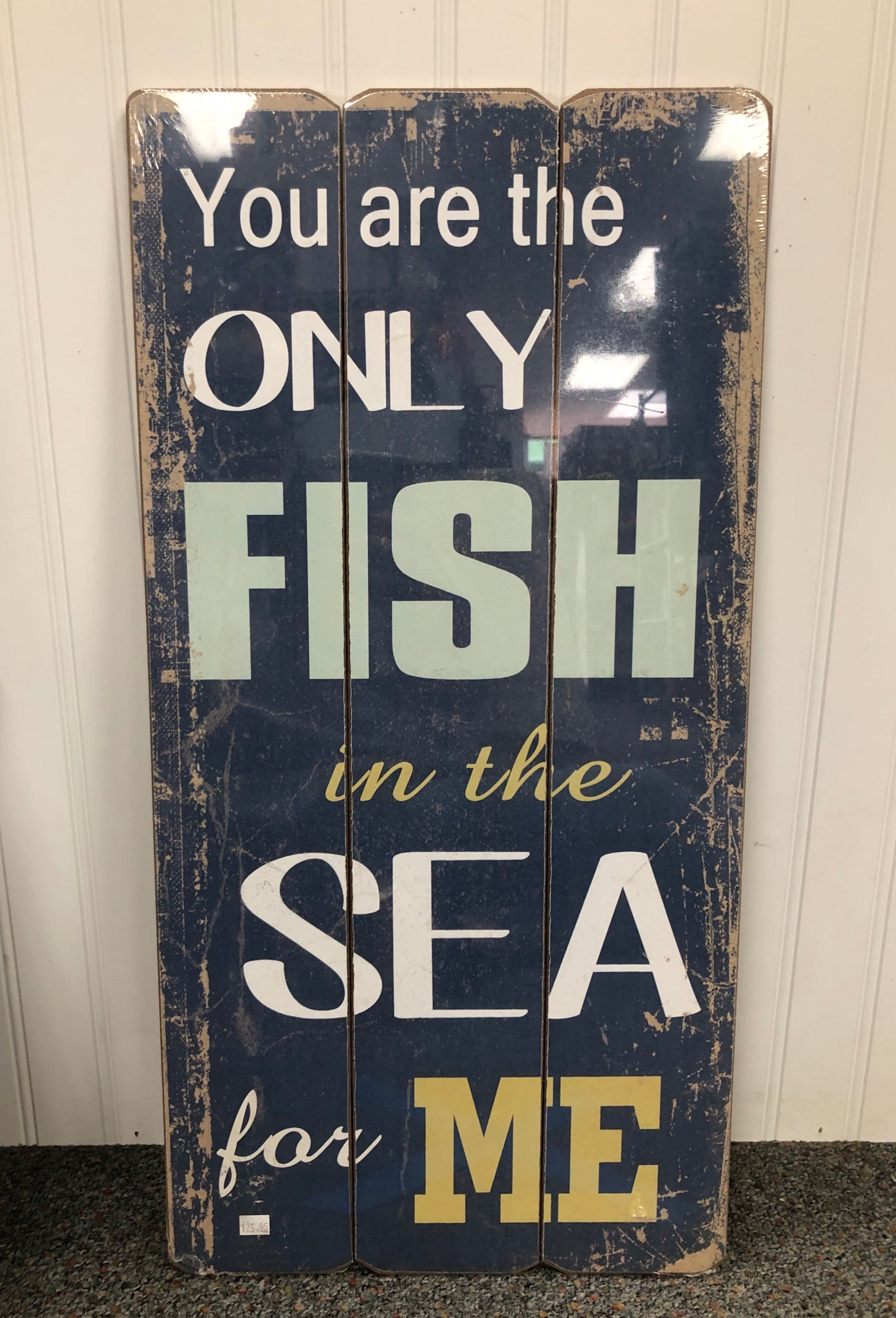 Fish in the Sea Sign