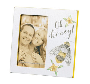 Oh Honey Plaque Photo Frame