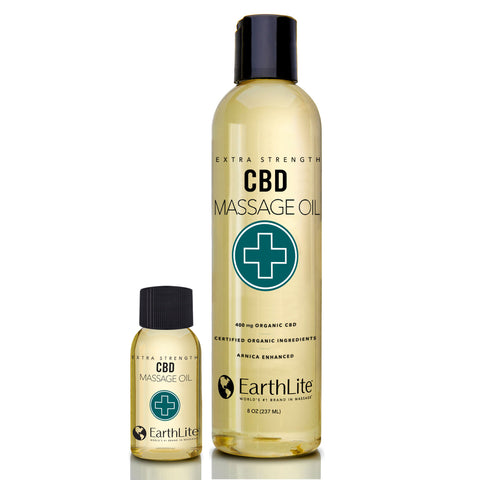 Organic Extra Strength CBD Massage Oil