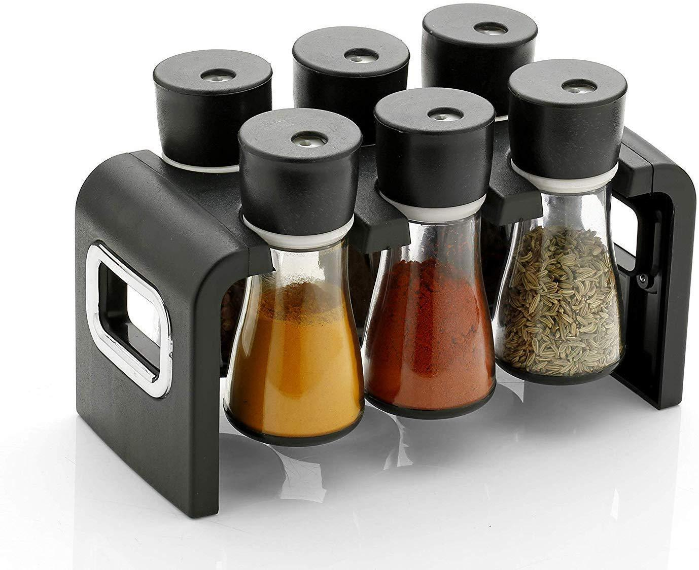 6-Jar Spice Rack - Kitchen Assistant India