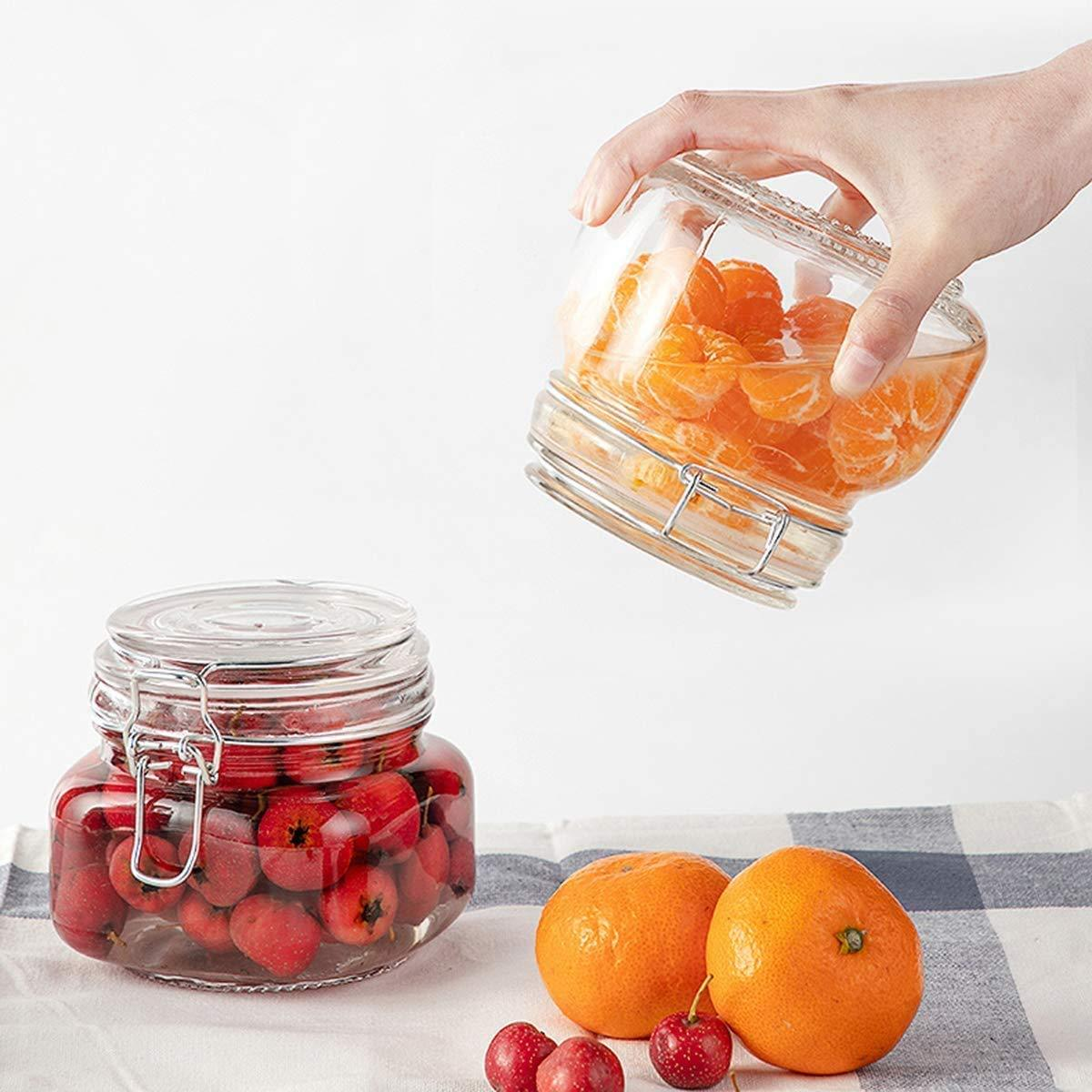 Air Tight Buckle Lid Jar | 500 ml