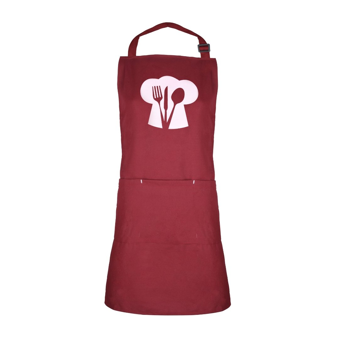 Solid Colour Apron | Chef Hat | Unisex