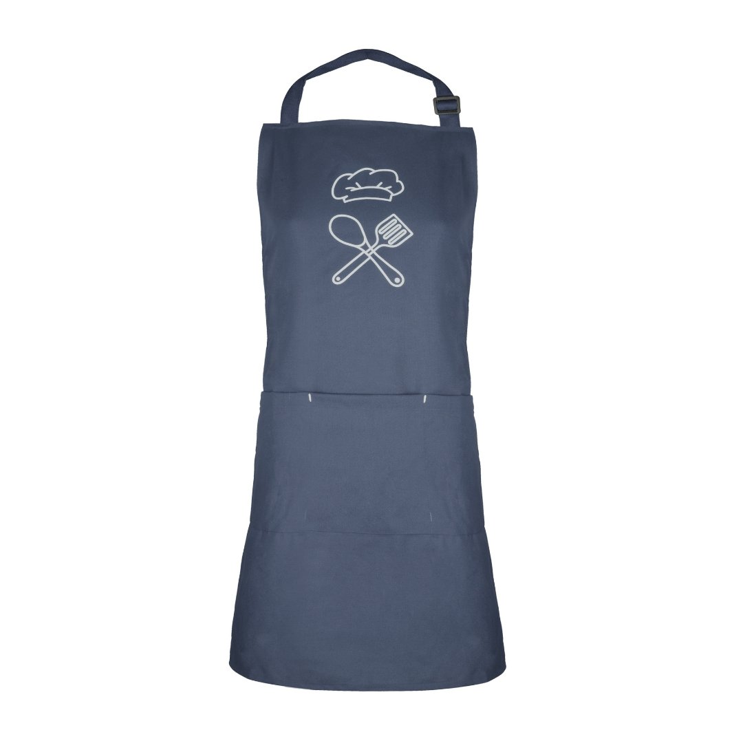 Solid Colour Apron | Hat & Spatulas | Unisex