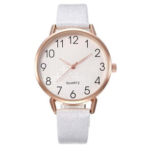 Simple Number Dial Ladies Watches