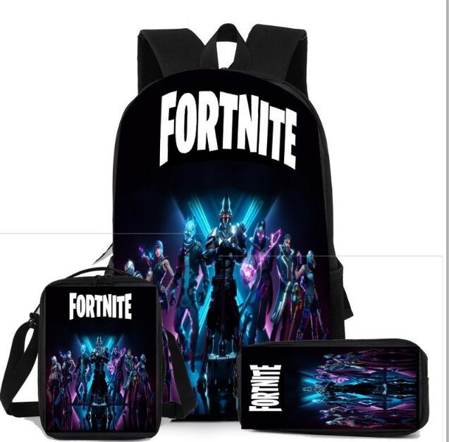 3 piece school Fornite Bags