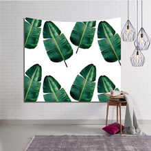Load image into Gallery viewer, 3D Green plant tapestry