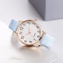 Load image into Gallery viewer, Simple Number Dial Ladies Watches