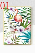 Load image into Gallery viewer, Flowers Green Plant Bird Poster