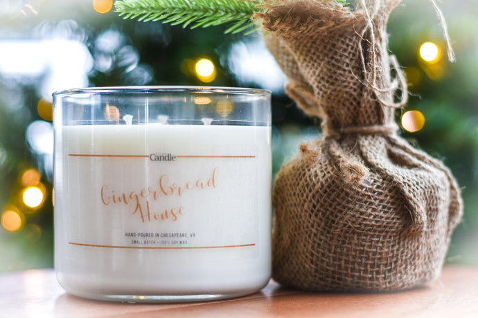 Gingerbread House - Soy Wax Candles | Artisan Candles