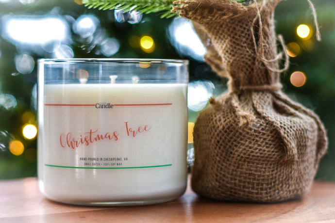 Christmas Tree - Soy Wax Candles - Artisan Candles