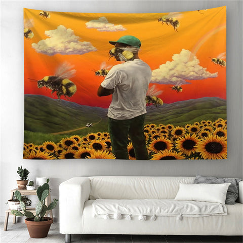 Flower Boy Tapestry