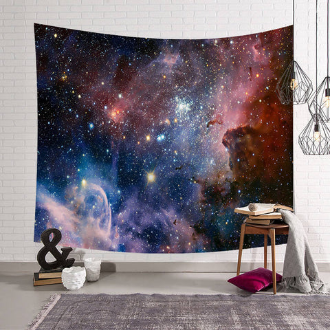 Vibrant Galaxy Tapestry