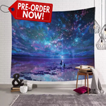 Reflective Galaxy Tapestry