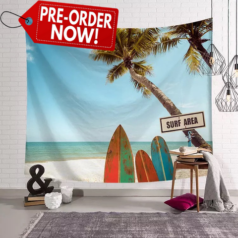 Surf Area Tapestry