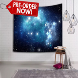 Blue Galaxy Tapestry