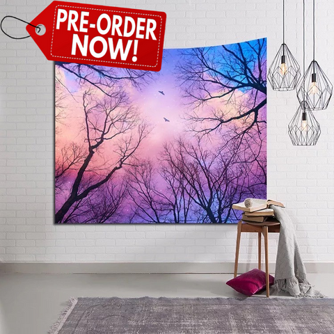 Colored Skies Tapestry