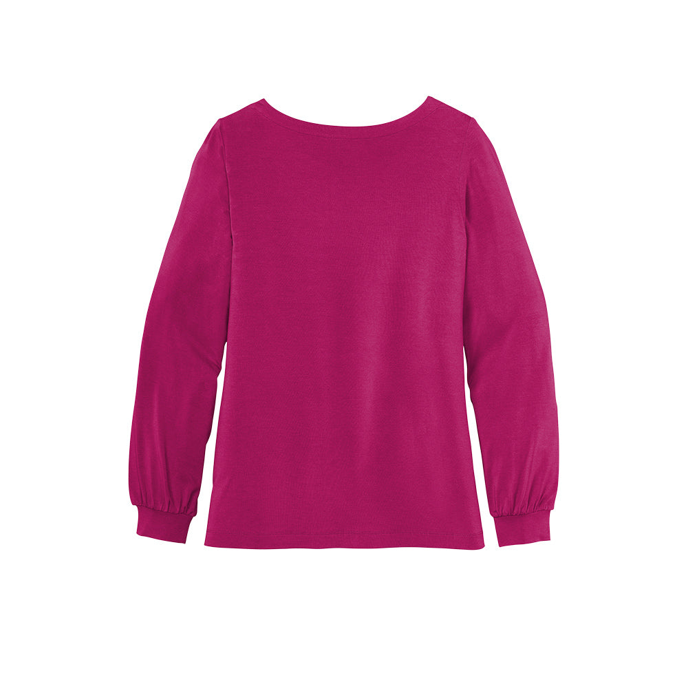 Ladies Jewel Neck Top