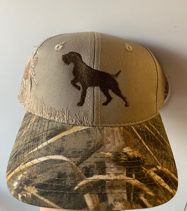 German Wired Hair Pointer Hat