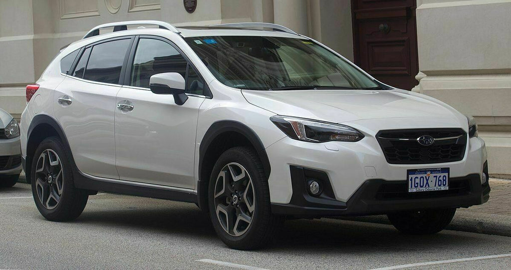 Subaru XV 2018-2020 GT 2ND GEN Slimline Weathershields & Rear Step Panel COMBO