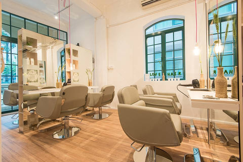 a great boutique hair salon in hong kong central