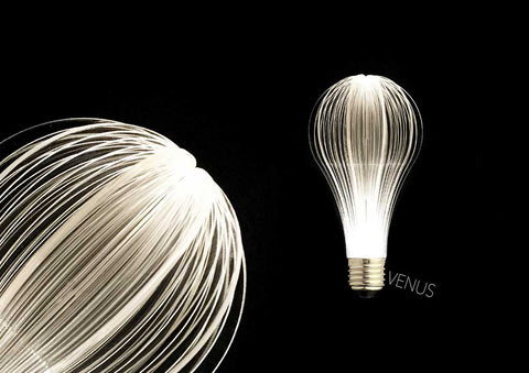 unique led light bulb, URI led light bulb, modern lamp, lighting