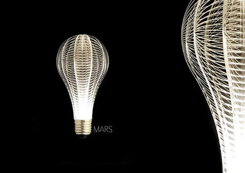 unique led light bulb, URI led light bulb, hanging lamp, pendant