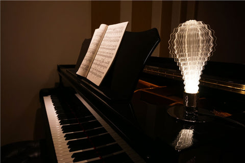 URI led light bulb for modern living room piano decoration