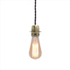 industrial style copper color edison bulb hanging lamp