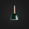 modern Green Scandinavian hanging lamp home restaurant decor