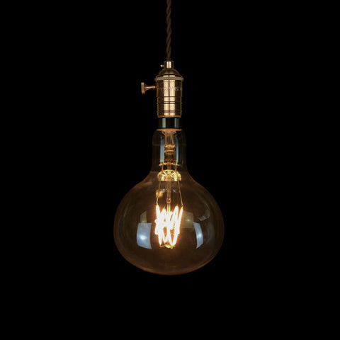 vintage style oversized globe led Edison Light Bulb lamp fixture kitchen decoration