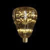 modern pumpkin led light bulb lighting fixture edison lamp