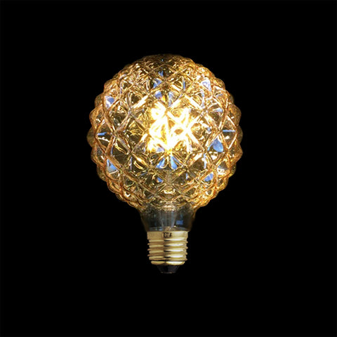 Modern LED Pineapple Bulb Pendants. Vintage Industrial Lamp