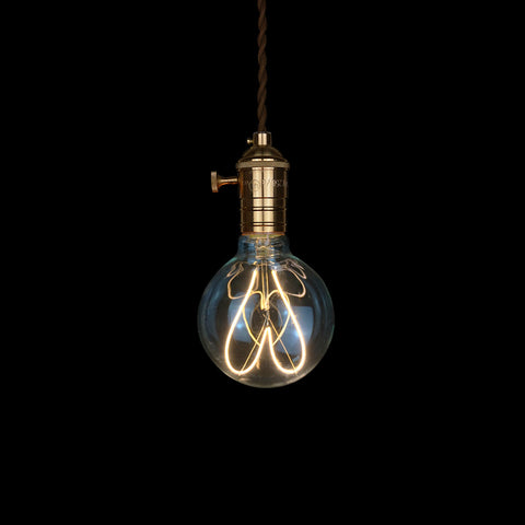 modern love heart globe LED Edison Bulb for gift premium