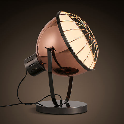 vintage style rose gold working lamp Scandinavia lighting design interior