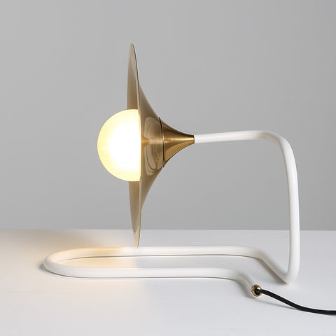 Trumpet Desk Lamp modern Scandinavian table lighting home decor