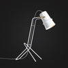 white color modern Scandinavian desk lamp home decor