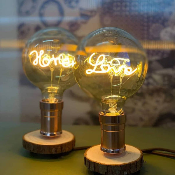 Love & Home LED Wood Desk Lamp