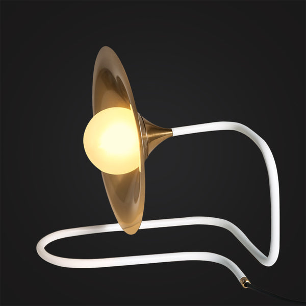 Trumpet Desk Lamp modern elegance table lighting interior design
