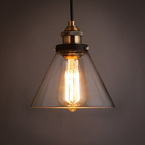 industrial glass lampshade hanging lamp ceiling lamp