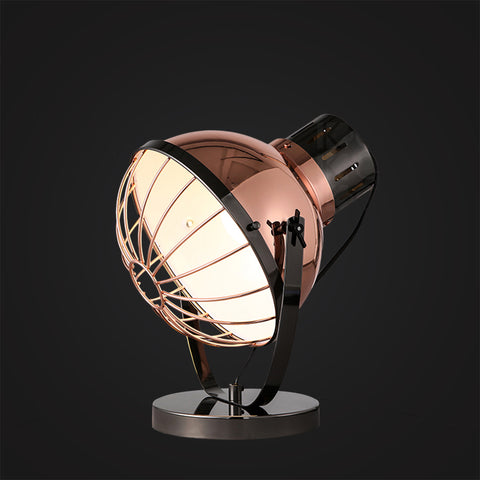 rose gold desk lamp Scandinavia home decoration lighting