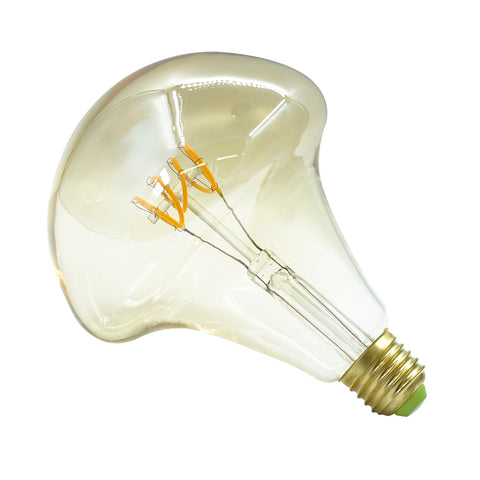 Mushroom Twisted Tubular LED Bulb