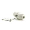 E27 White Bakelite Bulb Pendant Lamp Fitting