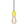 yellow E27 Porcelain lamp holder, modern edison lighting fixture