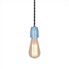 Blue Porcelain lamp holder edison lamp fixture pendant lighting