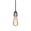 Silver Bullet Lamp Holder kitchen pendant edison light