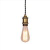 E27 industrial lamp socket wall edison bulb pendant lamp