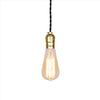 brass lamp holders hanging light fixture edison bulb pendant lamp