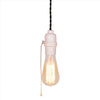 E27 Industrial White Bakelite Bulb Holder edison pendant lamp