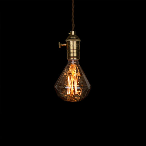 diamond edison light bulb gift love
